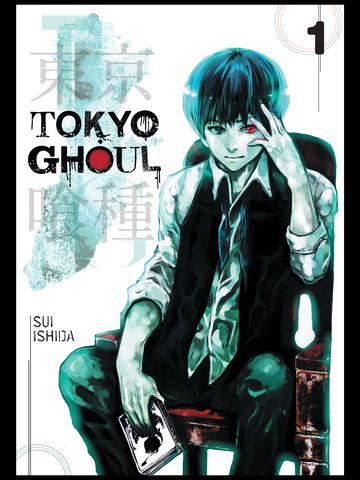 portada manga tokyo ghoul